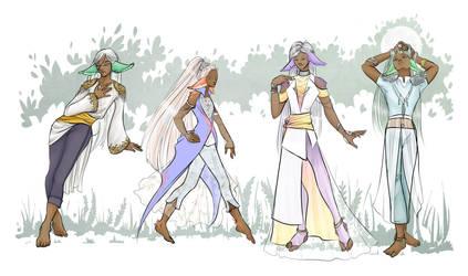 Dahalian fashion by GodessFae