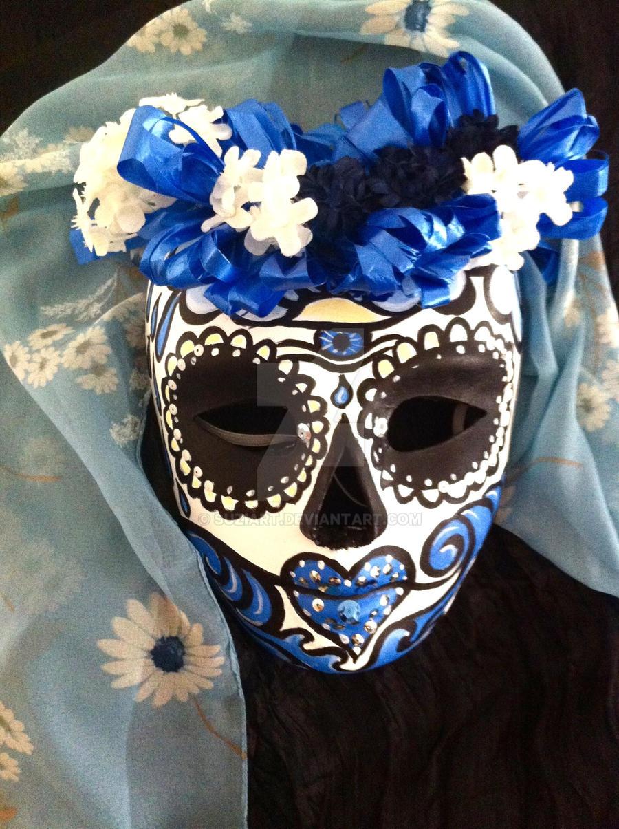 Sugar Skull Halloween MAsk bu Suzi Linden by suziart on DeviantArt