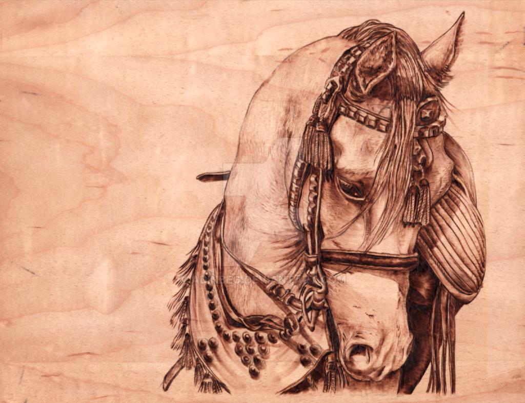 Arabian Stallion by AdinBeg