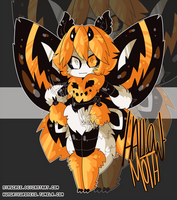Halloween Moth OTA | [CLOSED] by Nyascree