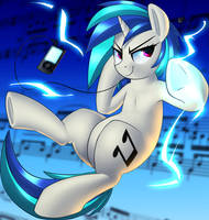 Vinyl Scratch Attack?? by January3rd