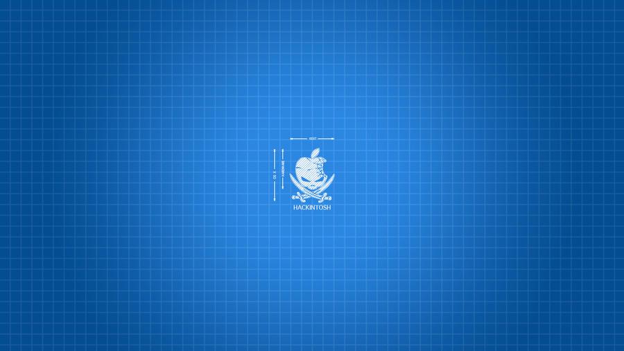 Blueprint Wallpaper for Mac OS X Yosemite 10.10.x by recoxblazer ...