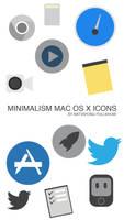 Minimalism Mac OS X Icons