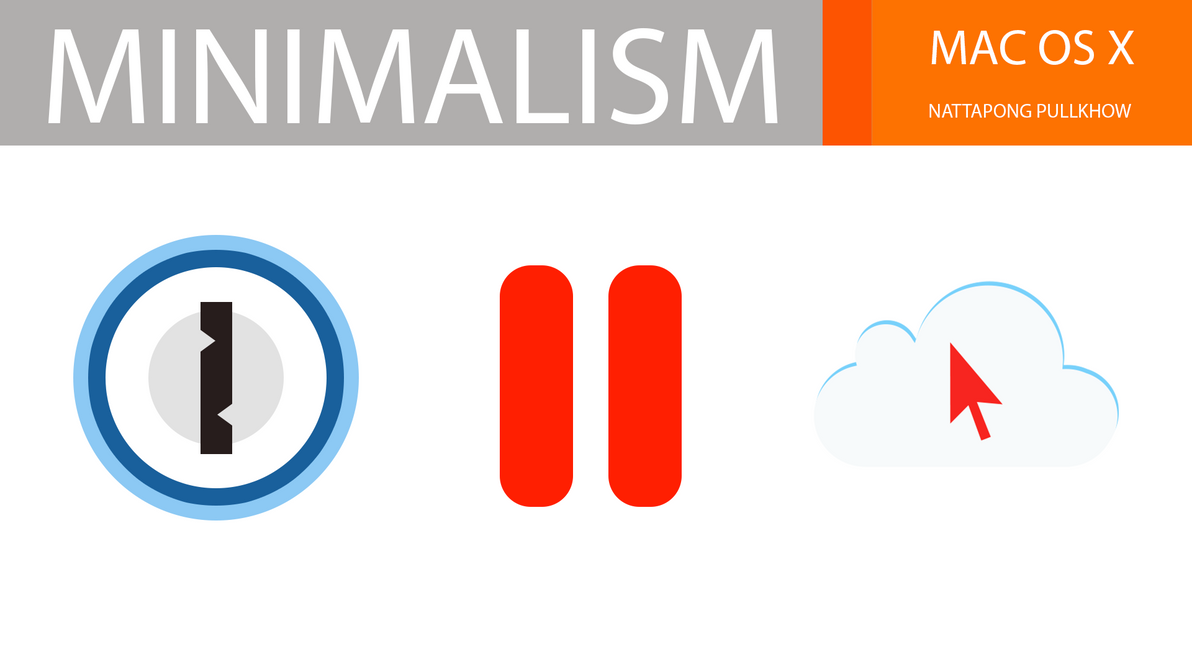 One JUMP PARA :MINIMALISM ICONS by xenatt