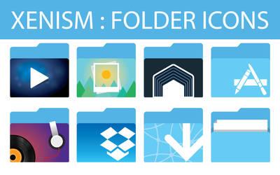 xenlism : folder icons