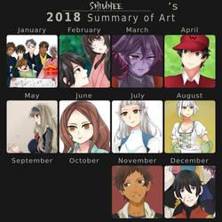 Summary of Art 2018 by Shiunee