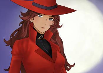 Carmen Sandiego by Shiunee