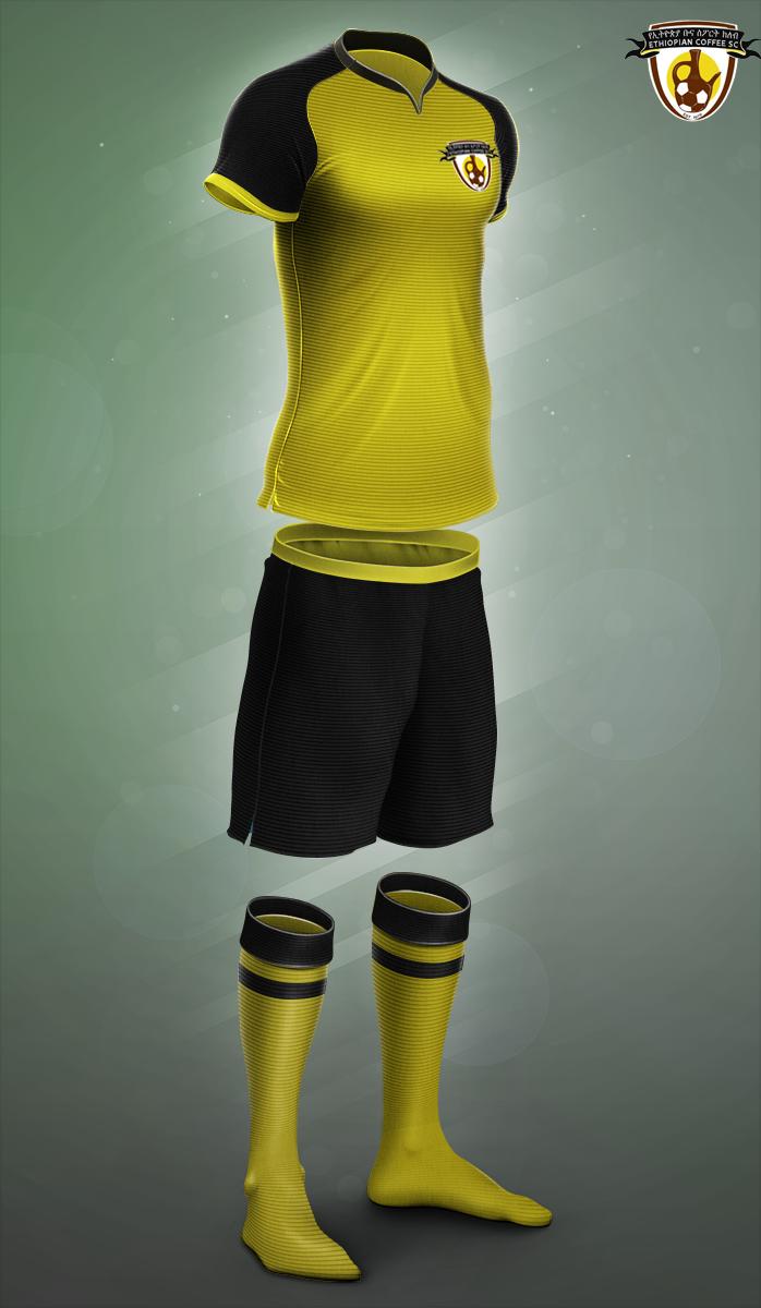 Ethiopia Buna FC new kit 2018 by Havokmesfin