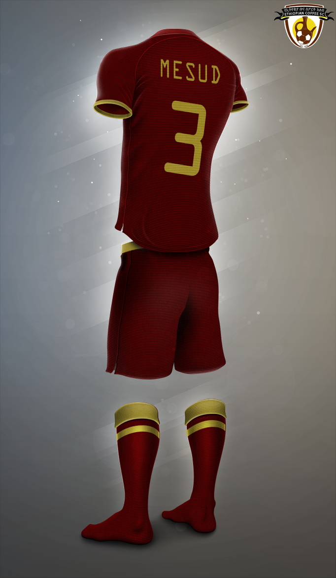 Ethiopia Buna FC_new kit 2018 by Havokmesfin