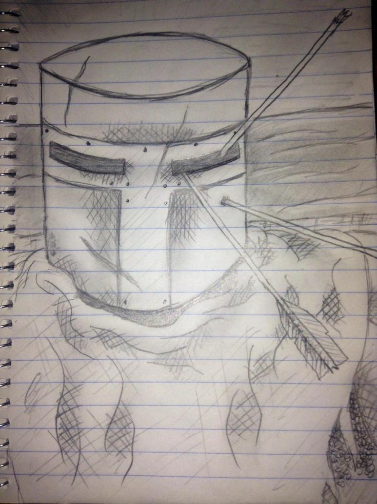 Heide knight sketch by chemio
