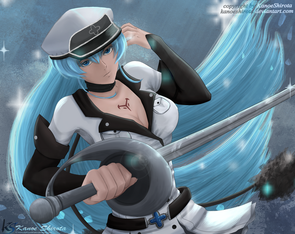Esdeath (Akame ga kill) by KanoeShirota