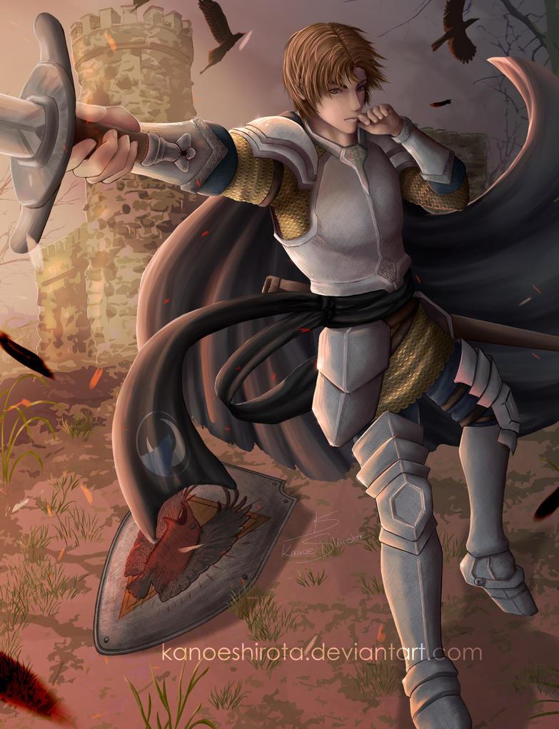 Kain Ironguard [Commission] by KanoeShirota