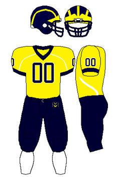 Michigan wolverines alternate uniform