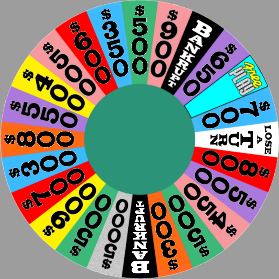 Season  Wheel With Bold Dollar Values By Chenglor On Deviantart