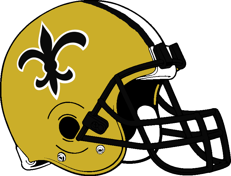 New Orleans Saints Helmet 1976 1999 By Chenglor55 On