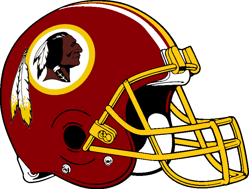 Redskins Helmet Cake