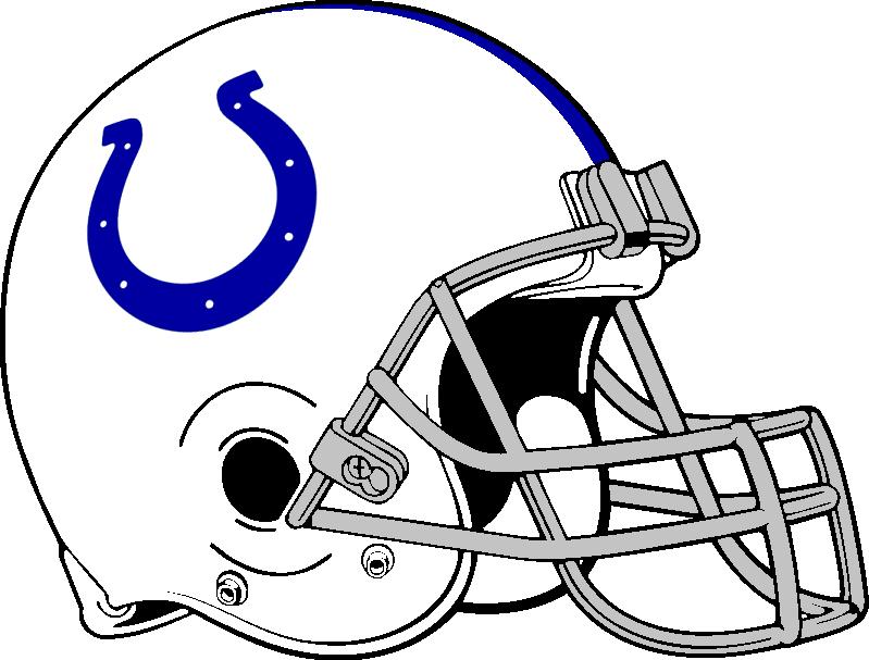 Colts Helmet 1957-1977, 2004-present