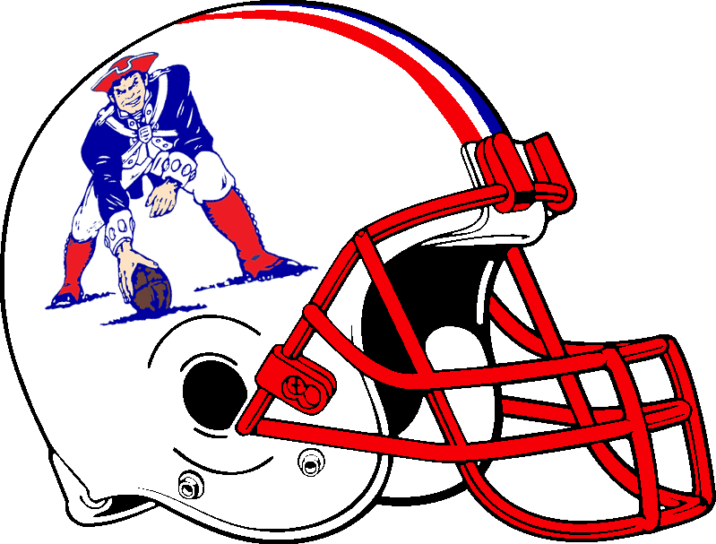 how to draw a patriots helmet