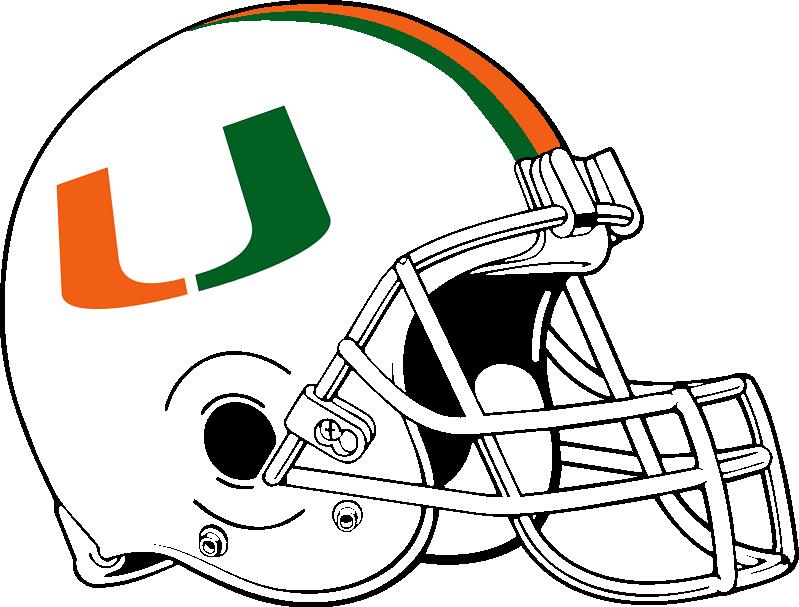 Image Result For Miami Hurricanes Helmet