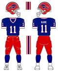 Buffalo Bills 90's alternate pants concept
