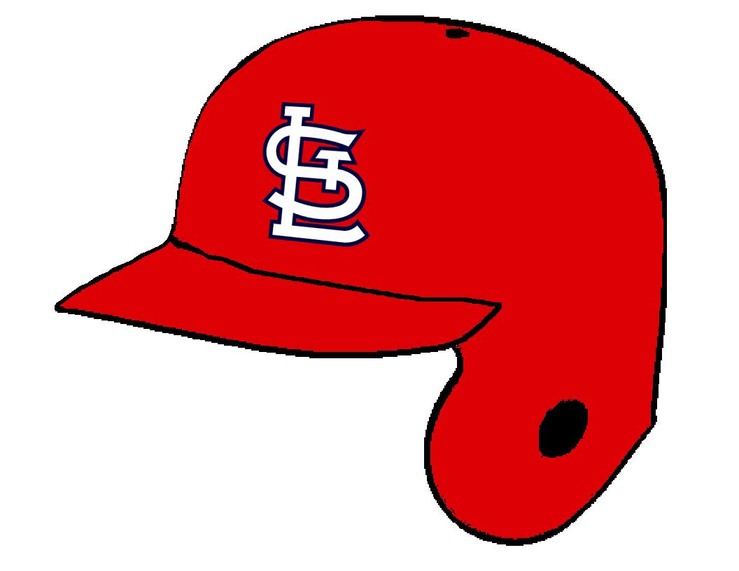 st louis cardinals red batting helmet by chenglor55 on deviantart rh chenglor55 deviantart com st louis cardinals clip art logo