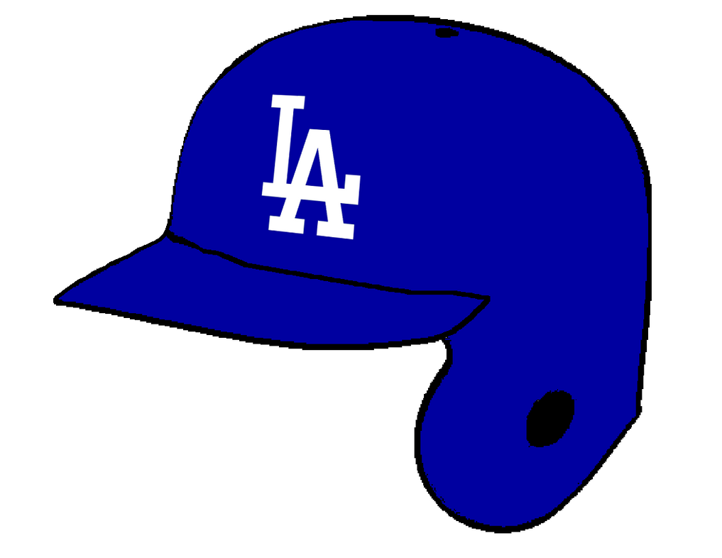 Los Angeles Dodgers Batting Helmet by Chenglor55 on DeviantArt