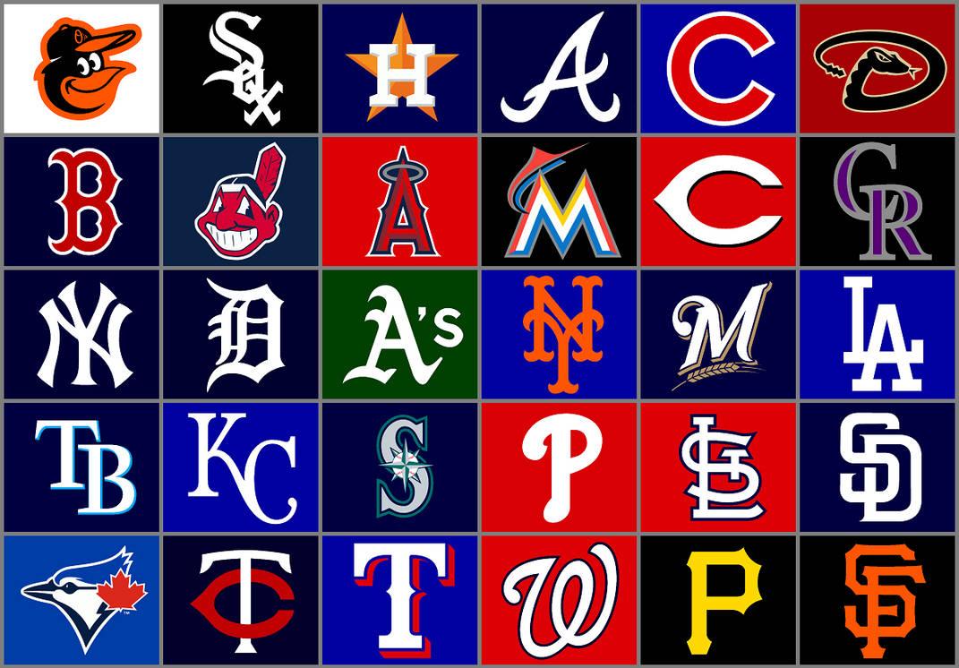 f45b293a4b8 Major League Baseball team logos by Chenglor55 on DeviantArt