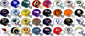 Nfl Team Helmets 2007 And 2008