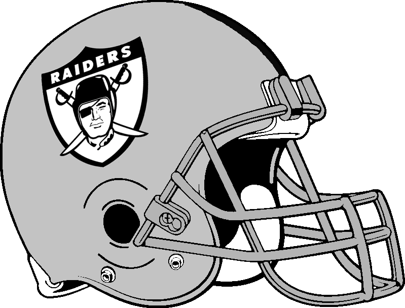 Related keywords suggestions for oakland raiders helmet logo for Oakland raiders logo coloring page