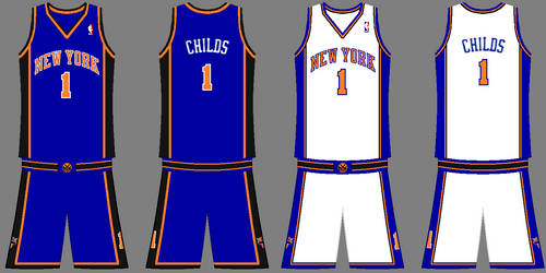 reputable site db299 7ac5a New York Knicks uniforms by Chenglor55 on DeviantArt