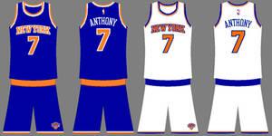 Knicks Uniforms 2014-2017