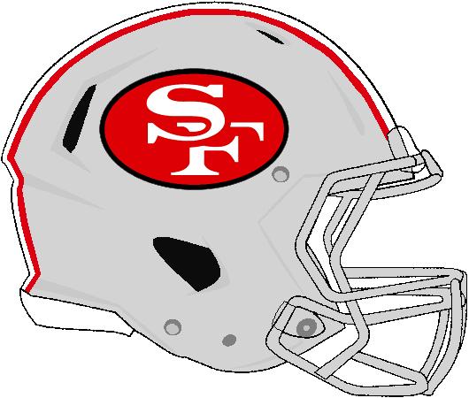 Revolution Speed 49ers 1962-1963 Helmet by Chenglor55