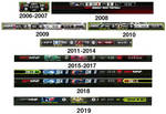 ESPN MNF Graphics History (UPDATED)