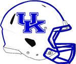 Kentucky 2014-2015 white Rev Speed helmet