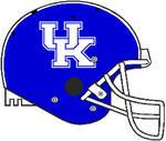 Kentucky 2016-Pres. stripe Schutt Air Pro helmet