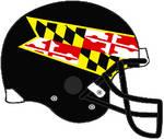 Maryland 2012-2014 black VSR4 helmet