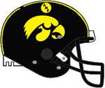 Iowa ANF Schutt Air Pro helmet