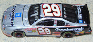 2002 Kevin Harvick #29 Goodwrench Service car