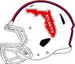 Florida Atlantic 2020 WHITE Rev Speed helmet
