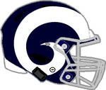 Rams 1964-1972 Speedflex Helmet