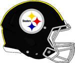 Steelers 1963-1976 Rev Speed Helmet