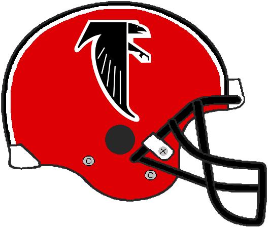 Falcons 1984-1989 VSR4 Helmet