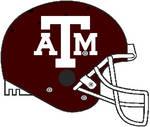 Texas A and M Schutt Air Pro helmet