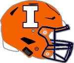 Illinois 2017 orange Speedflex helmet