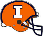 Illinois 2014-2016 orange VSR4 helmet