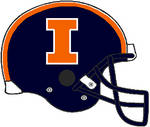 Illinois 2014-2016 blue VSR4 helmet