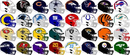 NFL Speedflex Team Helmets 2021