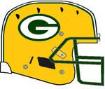 Packers 1980-Present Schutt DNA Helmet