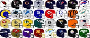Schutt DNA NFL team helmets 2021