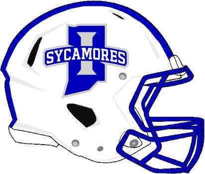 Indiana State 2021 rev speed helmet